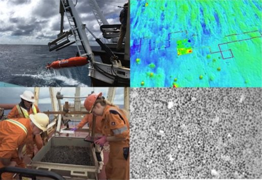 AUV Survey and Seabed Sampling Operations