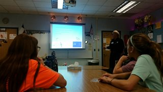 School Touring Program at Opal Hamilton Middle School