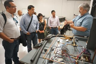 Mexican professionals tour Texas A&M Engineering Innovation's Center